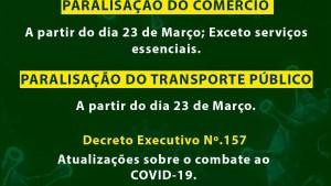 Paralisação do Transporte Público